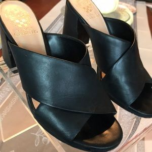 Leather Vince Camuto heels